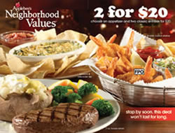 It's easy to save money at Applebee's using printable coupons and promo metin2wdw.ga of their most popular promotions is the Birthday Club. If customers sign up for Applebee's email list and provide their date of birth, they will receive a birthday metin2wdw.ga email list sends loyal customers regular news about restaurant deals and promos%().
